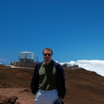Jed atop Haleakala
