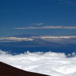 Looking at Hawaii from Haleakala