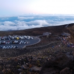 Haleakala parking lot at 05:20