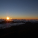 Sunrise from  Pa Ka'oao