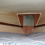 V-berth insulation up and covered