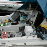 The fun of completeing projects on a small boat