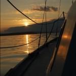 The calm Pacific