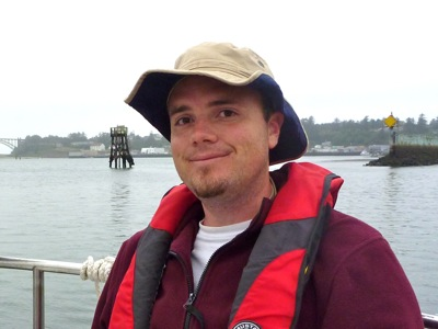 Jed in Yaquina Bay